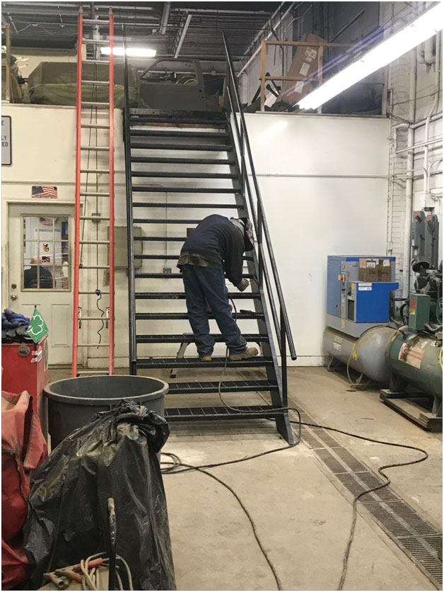 We Provide On Site Fabrication